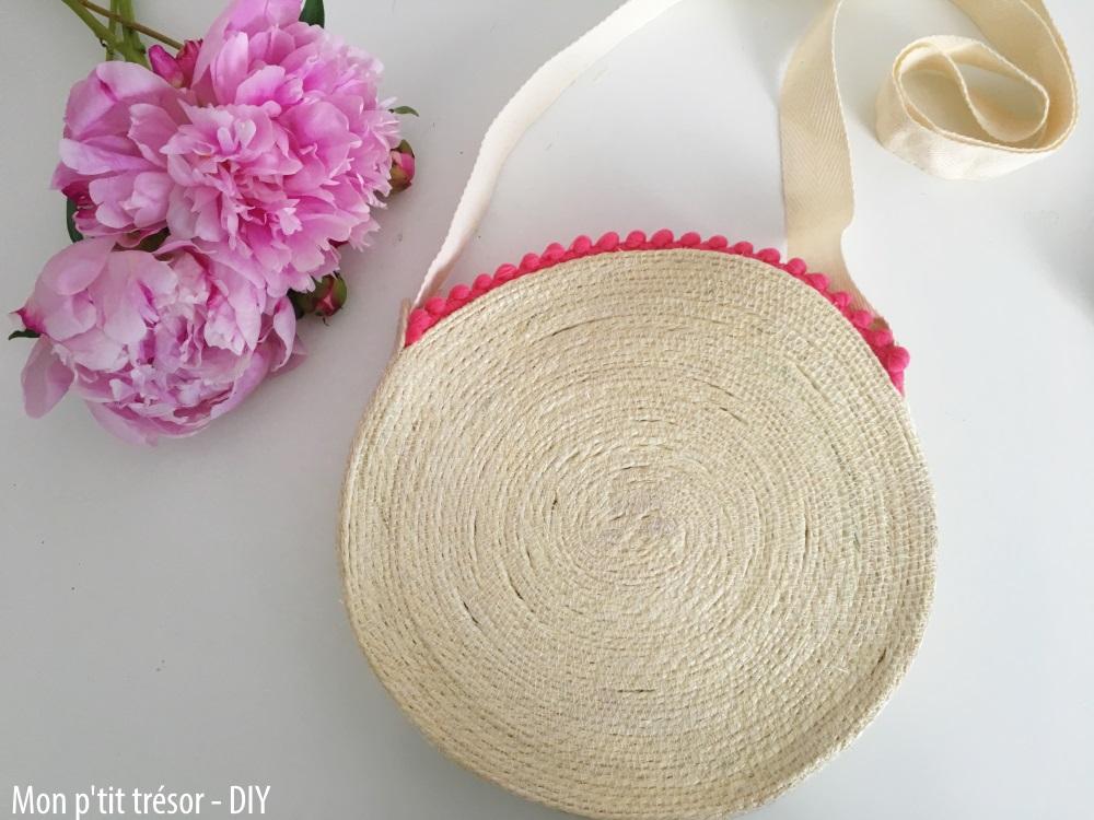 DIY : le petit sac rond en paille