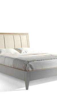 Cama-para-dormitorios-Valentina-cabezal-lineas-tapizado-blanco-Roble-recto