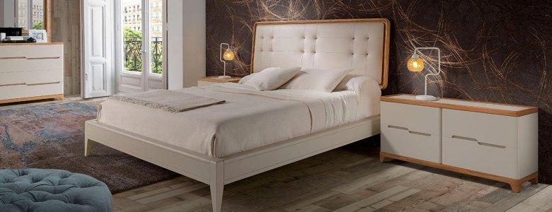 Dormitorio-Valentina-Cabezal-Capitone-gris-Blanco