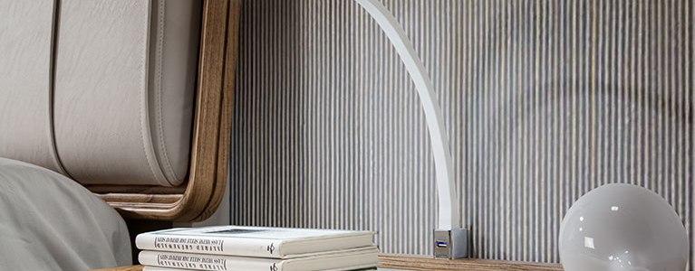 lámpara para dormitorio flexi