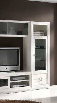 Mueble para salon Penelope blanco 02