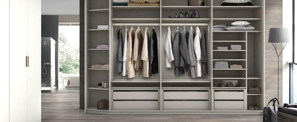El m todo marie kondo para organizar con armarios modernos for Medidas closets modernos