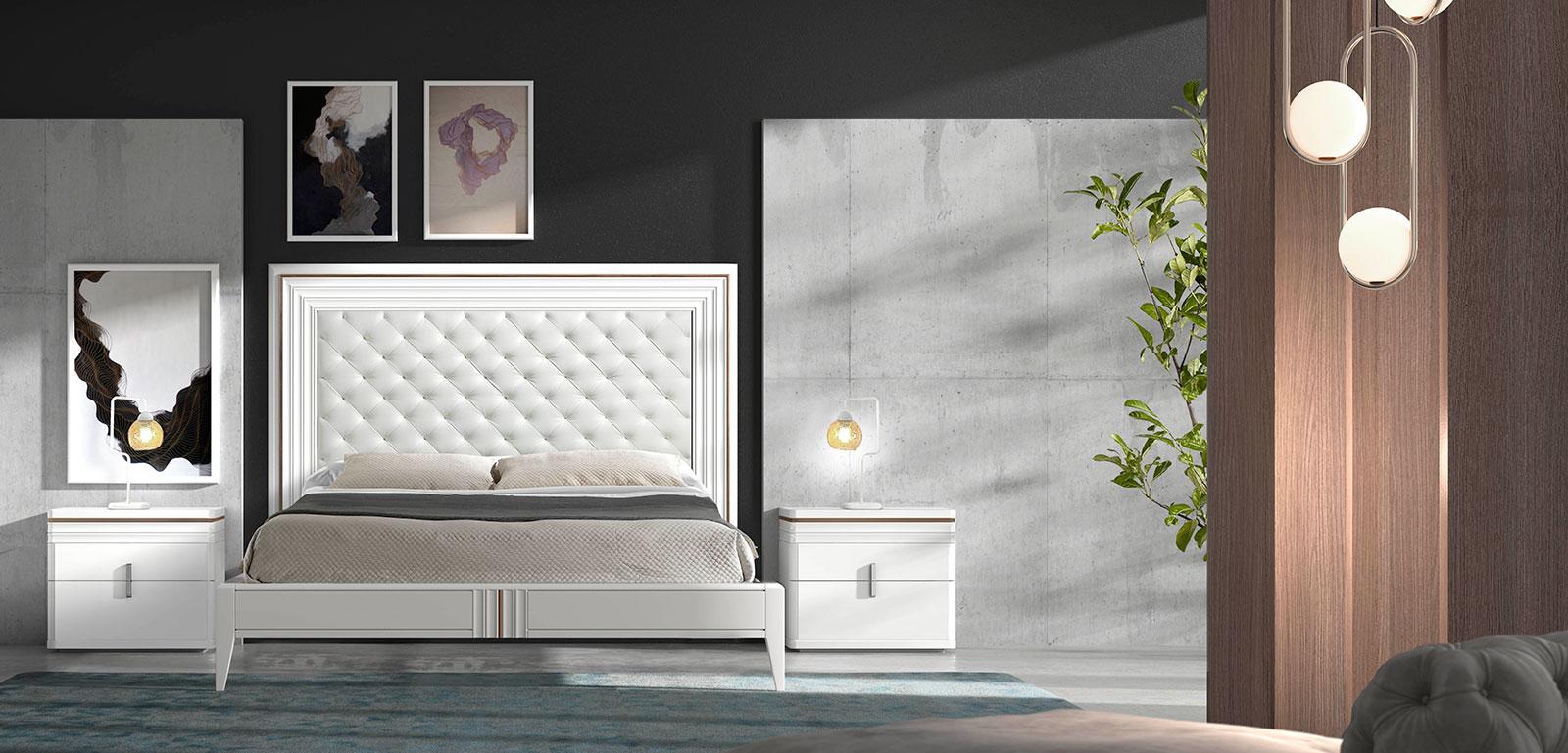 Dormitorios de matrimonio de diseo el nuevo lujo discreto