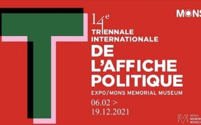 Triennale internationale de l'affiche politique au Mons Mémorial Muséum du 6 février au 19 décembre 2021