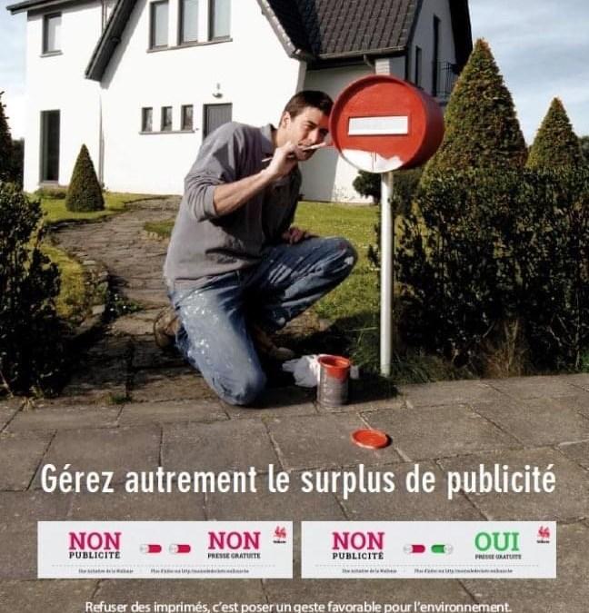 Stop pub dans boîte aux lettres