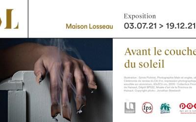 """Exposition """"Avant le coucher du soleil"""" à la Maison Losseau Mons"""