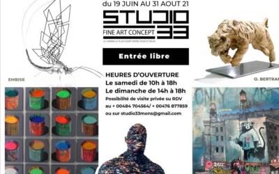 Null'Part Ailleurs au Studio 33 rue d'Havré Mons