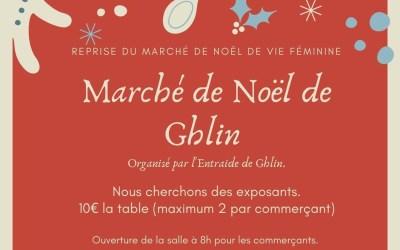 Marché de Noël à Ghlin