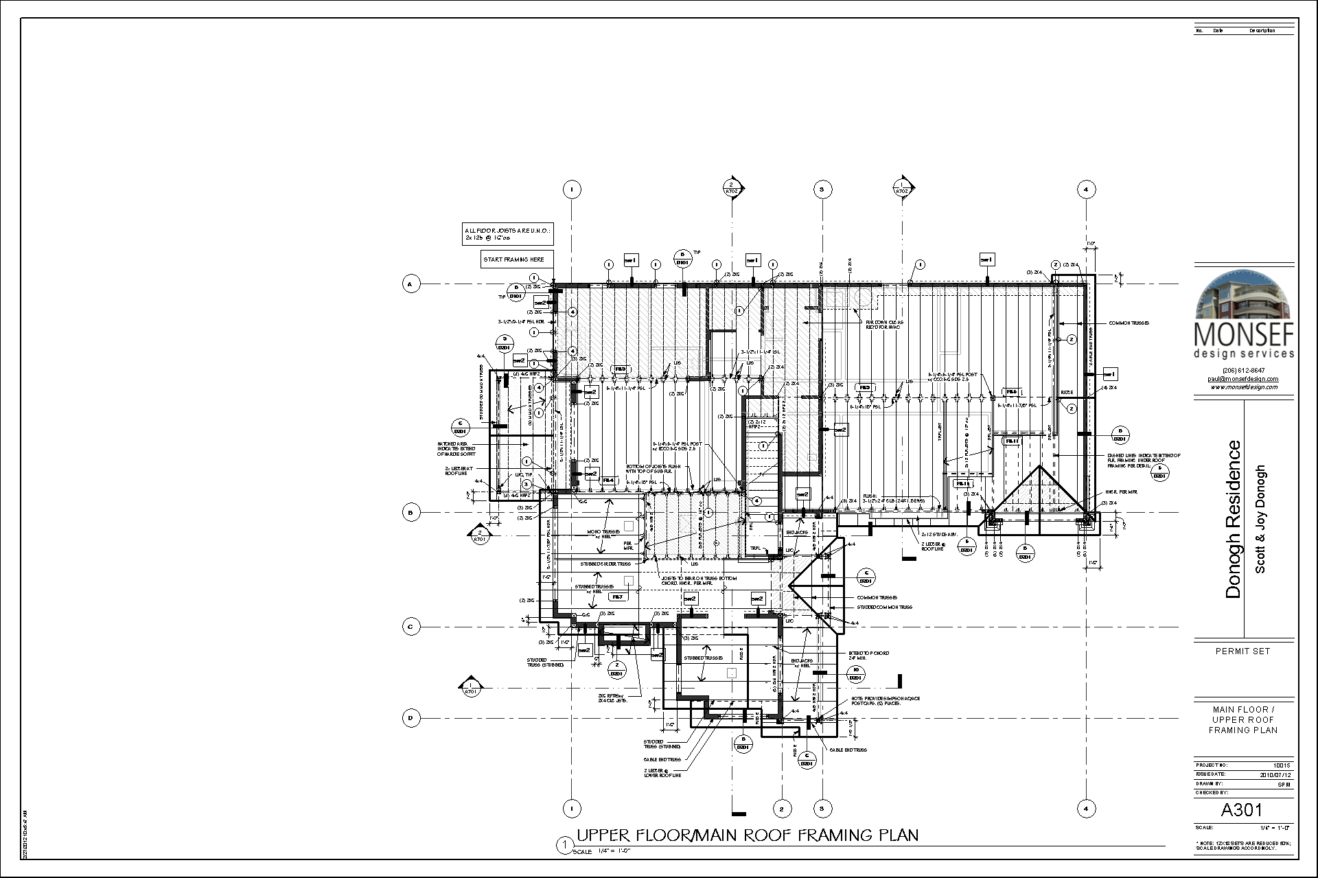 Monsef Donogh Design Groupdonogh Residence