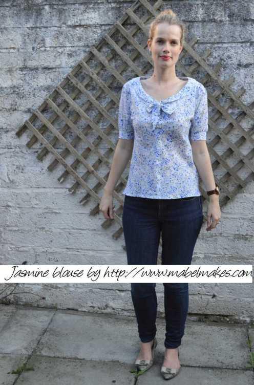 Mabel's jasmine blouse