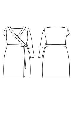 Cash Appleton Wrap Dress (2)