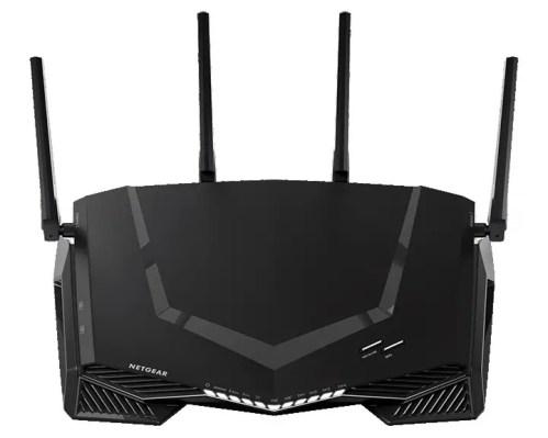 Netgear Nighthawk XR500 pro gaming vue en face de haut