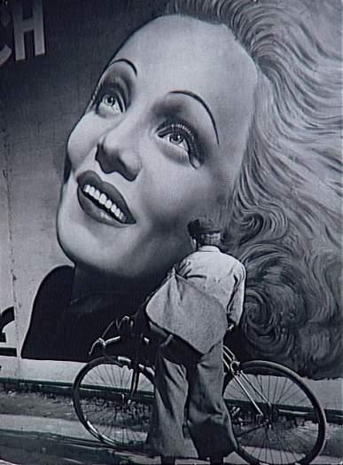 Affiche de Marlene Dietrich