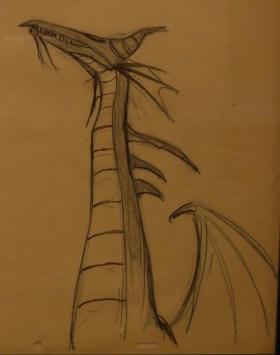 Le Dragon de La Belle au Bois Dormant ©Monsieur Benedict