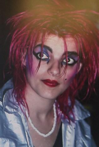 Nina Hagen à l'hôtel des Beaux Arts en 1982