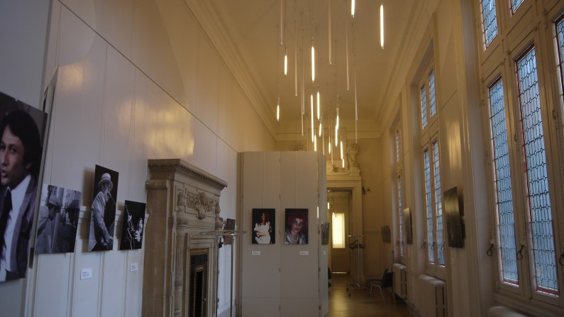 La salle de l'exposition ©Monsieur Benedict