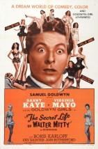 Affiche de la vie secrète de Walter Mitty (1947)