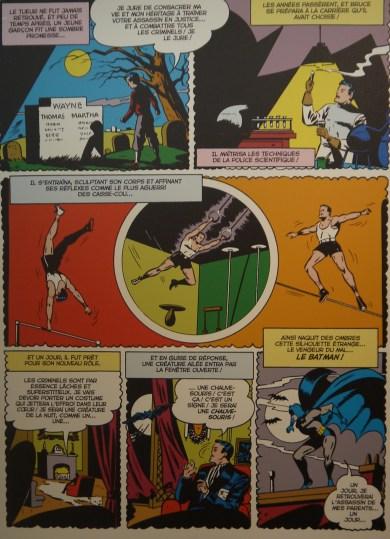 Planche de Batman (1948) ©Monsieur Benedict
