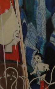 Illustration originale Astro Boy © Tezuka Productions