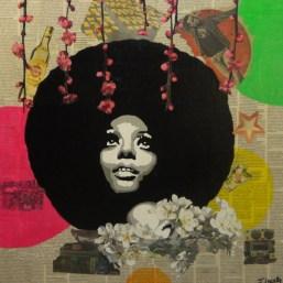 Diana Ross par Jessica LeGuillon © La galerie Pari(s) Urbain