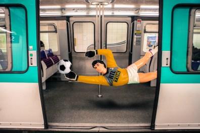 """La série """"Toys in City"""" © Clarisse Rebotier"""