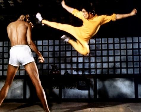 Bruce Lee et Kareem Abdul Jabbar