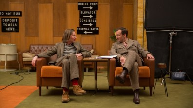 Wes Anderson et Jude Law