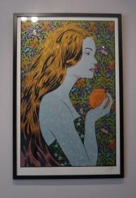 Exposition Chuck Sperry à la Galerie l'Oeil Ouvert ©Monsieur Benedict
