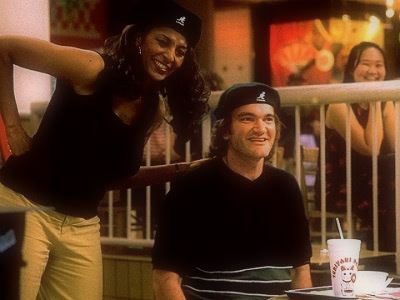 Pam Grier et Quentin Tarantino