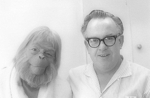 Maurice Evans et John Chambers