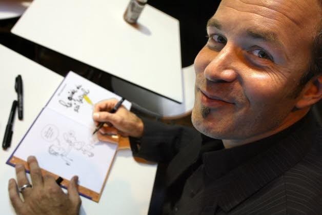 Le dessinateur Zep