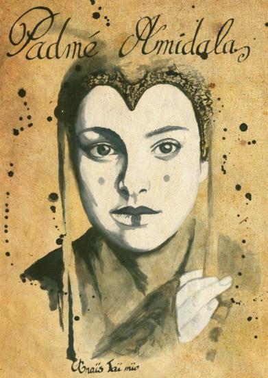 """La Reine """"Padmé Amidala"""" par ©Anaïs Taï Mïo"""