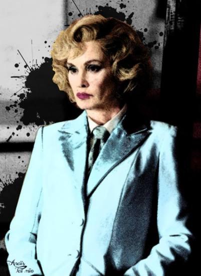"""""""Jessica Lange"""" dans American Horror Story par ©Anaïs Taï Mïo"""