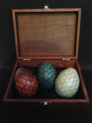 The Dragon Eggs - Game of Throne par ©Anaïs Taï Mïo