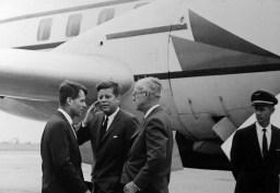 Robert Kennedy et John Fitzgerald Kennedy