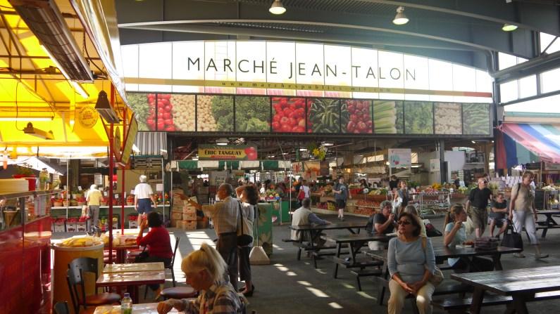 Le Marché Jean Talon ©Monsieur Bénédict