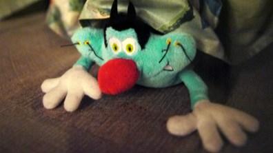 """Toy Story """"Oggy sous le canap"""" par Clarisse Rebotier ©Monsieur Bénédict"""