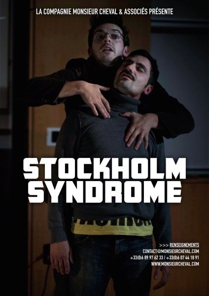 Affiche spectacle Stockholm Syndrome