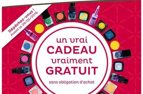 Un VRAIE Produit Maquillage Nocibé offert Gratuitement
