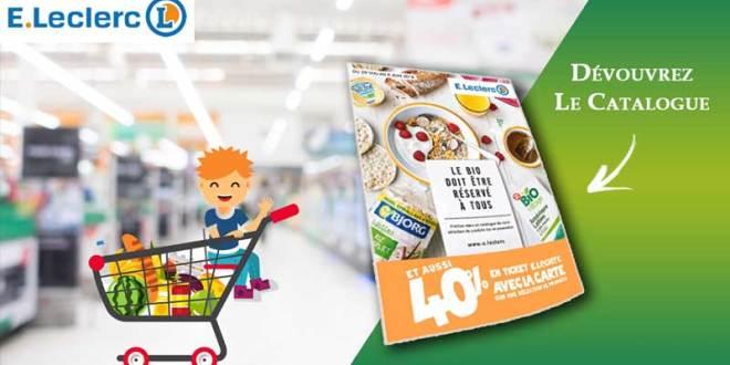 Catalogue E-Leclerc Du 29 Mai Au 09 Juin 2018