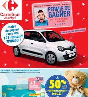Catalogue Carrefour Market Du 16 Au 28 Octobre 2018