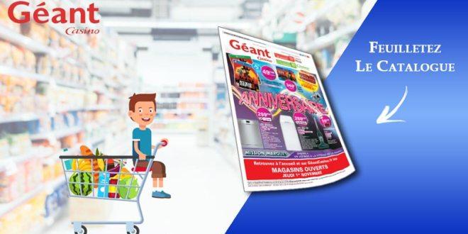 Catalogue Géant Casino Du 23 Octobre Au 4 Novembre 2018