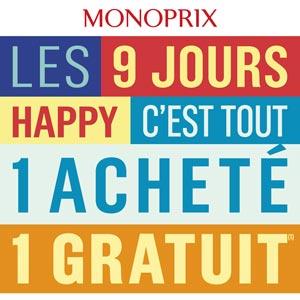 Catalogue Monoprix Du 28 Septembre Au 8 Octobre 2018