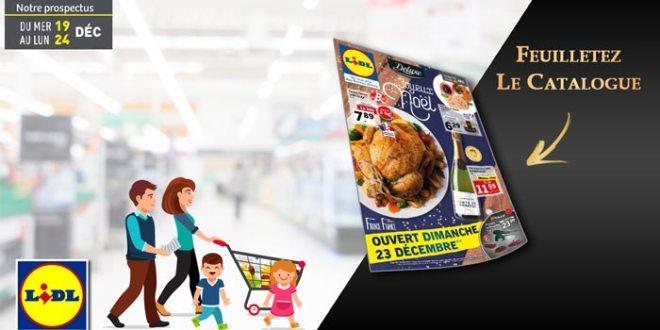 Catalogue Lidl Du 19 Au 24 Décembre 2018