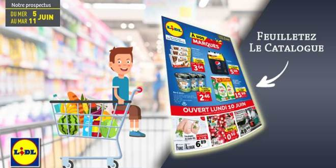 Catalogue Lidl Du 5 Au 11 Juin 2019
