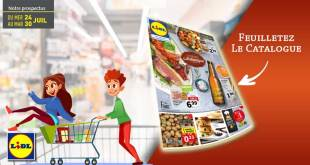 Catalogue Lidl Du 24 Au 30 Juillet 2019
