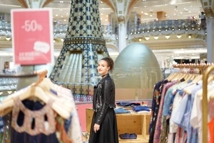 Mon shopping aux Galeries Lafayette