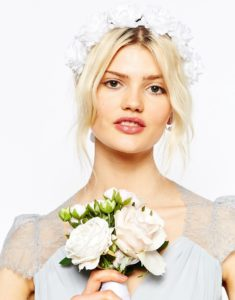 couronne de fleurs, flowers, accessoire, wedding, asos, fashion, mode, tendance, féminin, girl, girly