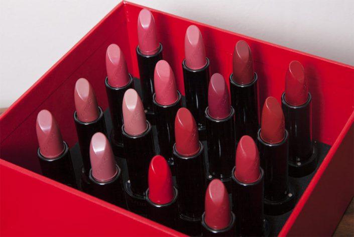 Astuces maquillage d'Audrey La Beauté Parisienne : le rouge à lèvres