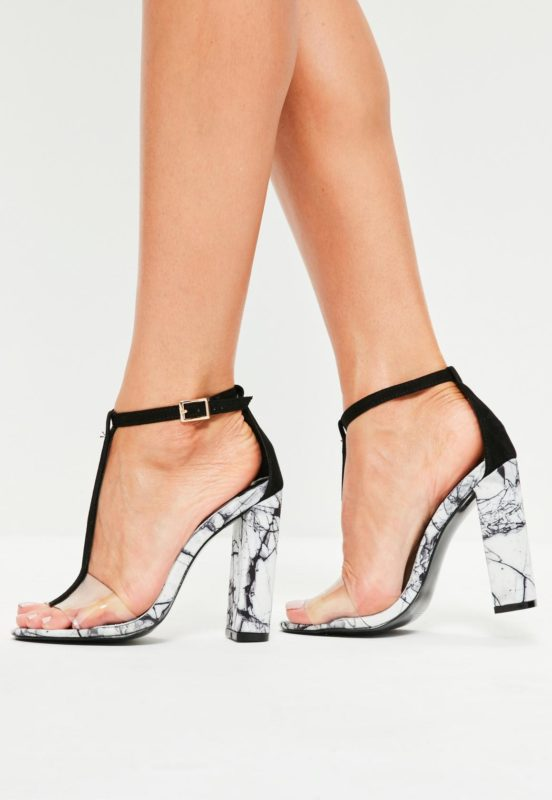 Chaussures finition marbrée MissGuided